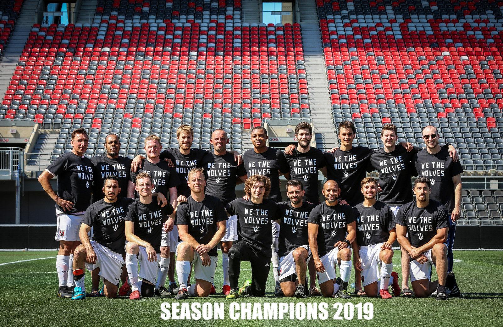 Champions not forgotten.